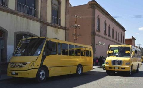 Niños tendrán lugares exclusivos en transporte