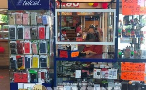 Opera banda de roba celulares