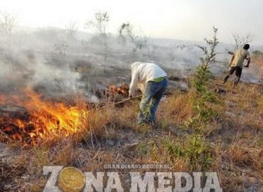 Prohibido quemas agrícolas en la zona