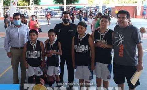 Truenos conquista campeonato 3x3