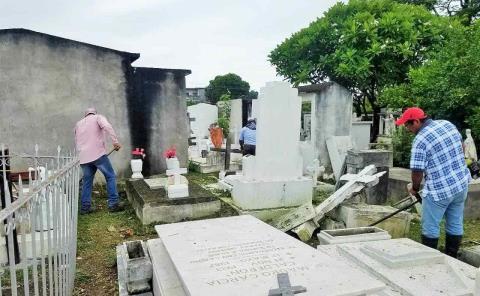 Piden fumigación en cementerios