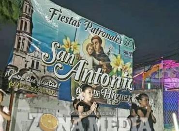 Inician la novena en honor a San Antonio