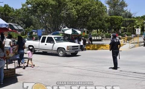 Fortalecieron seguridad en zona centro, policías