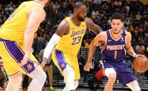 Suns elimina a Lakers