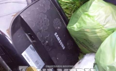 No tirar la basura electrónica