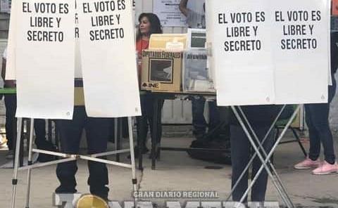 Jornada electoral iniciará a las ocho de la mañana
