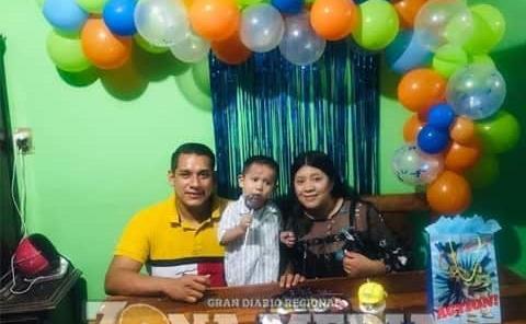 Diego cumplió 2 años de nacido