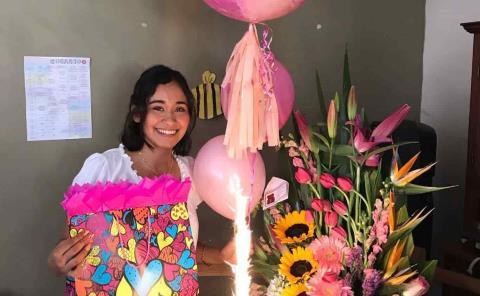 Grata velada a Renata Barrios
