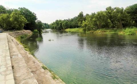 Río recupera su nivel por lluvias