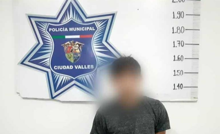 Motociclista detenido