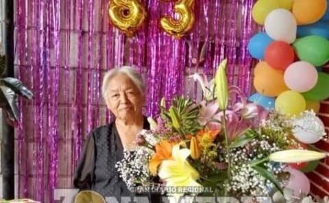 83 años cumplió la señora Ema