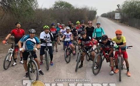 Ciclistas se unen a una campaña