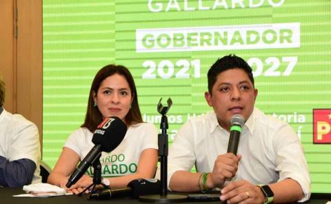Ricardo Gallardo, virtual ganador de la elección en SLP