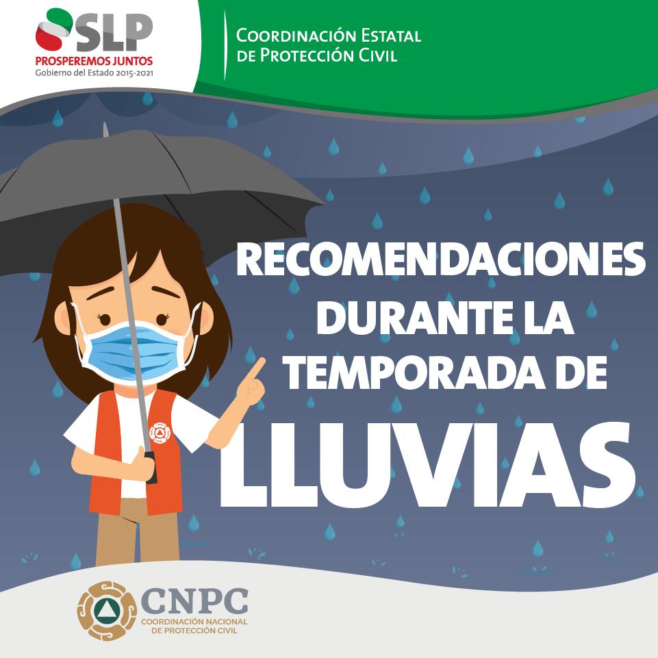 RECOMENDACIONES DURANTE LA TEMPORADA DE LLUVIA