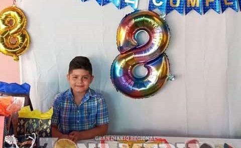 8 años cumplió el niño Alexander