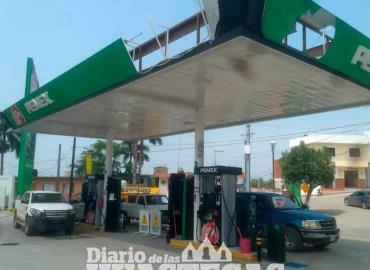 Encontró gasolinerías que despachan 100 mm de más