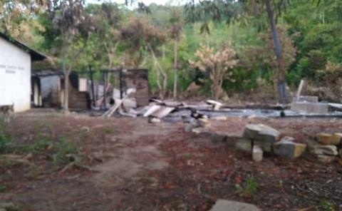 Incendio de una vivienda