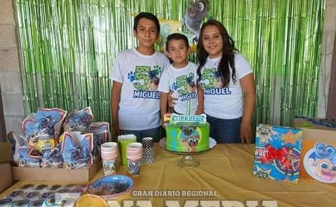 Fiesta de Bingo y Roly tuvo Miguel Rojas