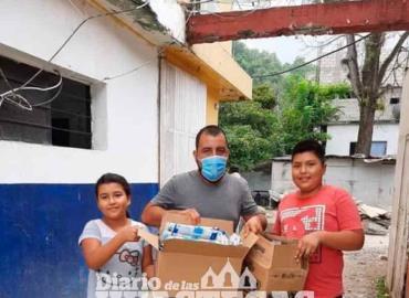 Agradecen a niños por reforestar el municipio