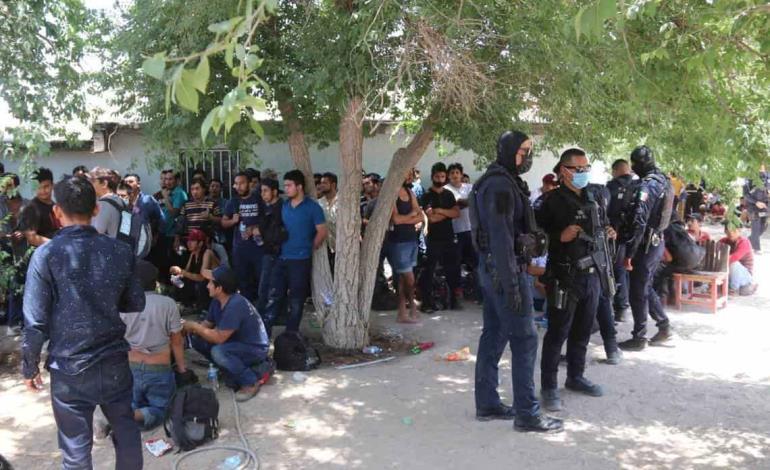 Rescataron a 206 migrantes