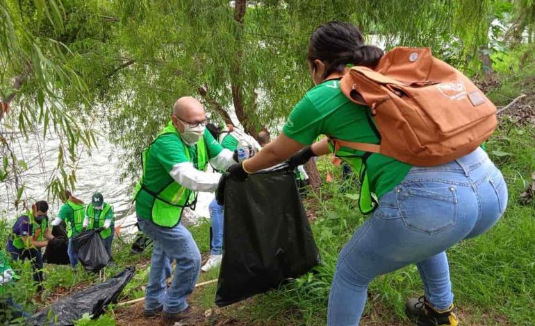 Voluntarios de Iberdrola y Cíclica realizan campaña de limpieza
