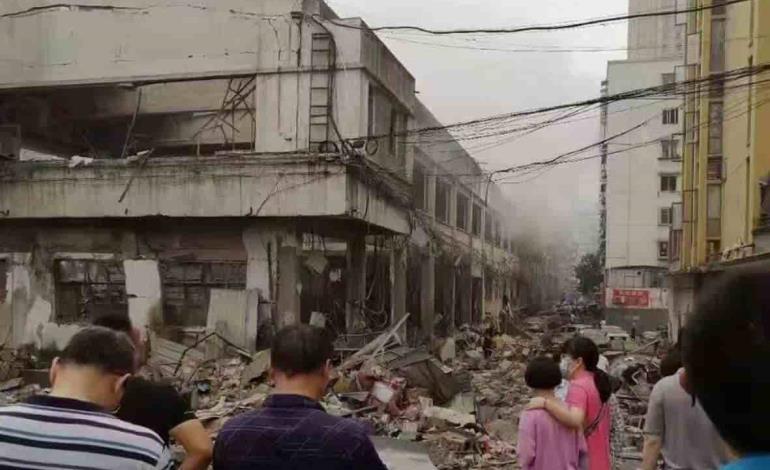 Explosión de gas mató a 12 personas