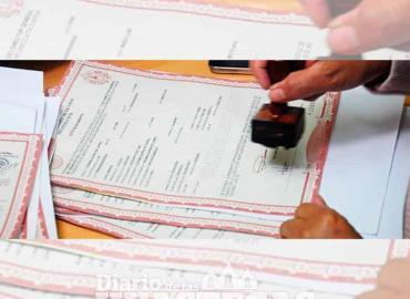 Copias certificadas de nacimiento son gratis
