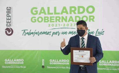 R. Gallardo ya es Gobernador electo