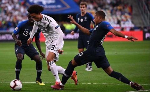 Francia y Alemania choque de titanes