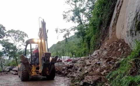 Se derrumbó el cerro