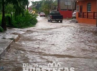 Lluvias causaron serias afectaciones