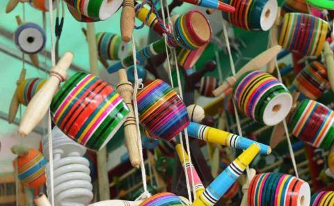 Secult organiza concurso de fabricación de juguetes