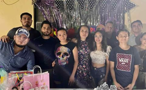 Festejo temático en honor a Rossy Rivas