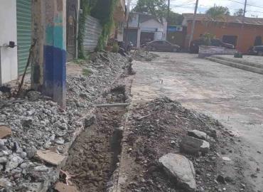 Amplían drenaje a Chapulhuacanito