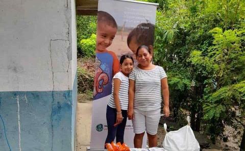 Entregaron despensas a familias vulnerables