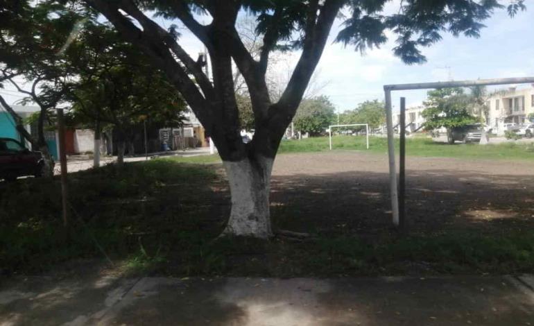 Área recreativa solicitan colonos