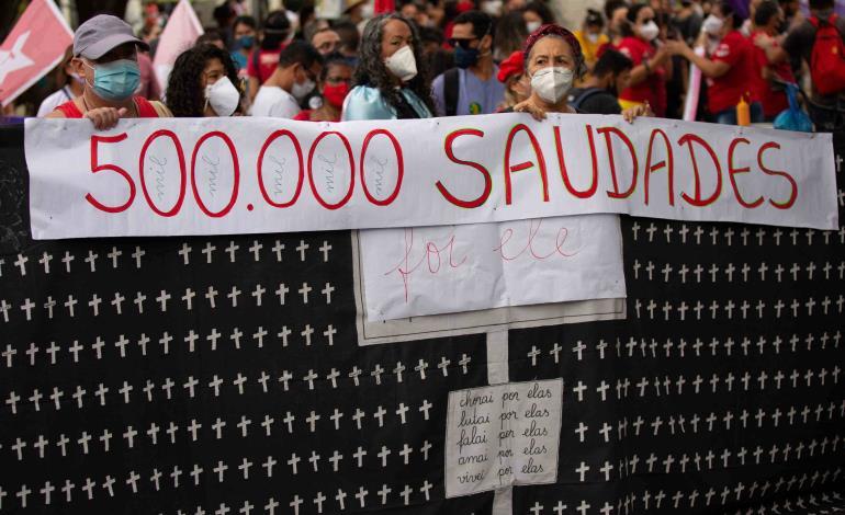 Superó Brasil los 500,000 muertos