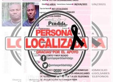 Localizan sin vida a nigeriano desaparecido