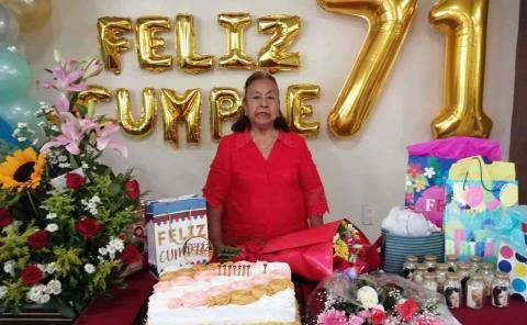71 años de María Luisa