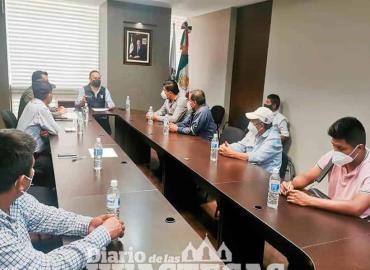 Alcalde sostuvo reunión con funcionario estatal