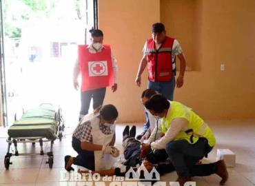 Realizaron simulacro de sismo en Alcaldía