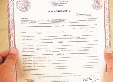 Registro Civil se opuso a nombre