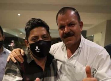 Juntos L. Fernando y Ricardo Gallardo