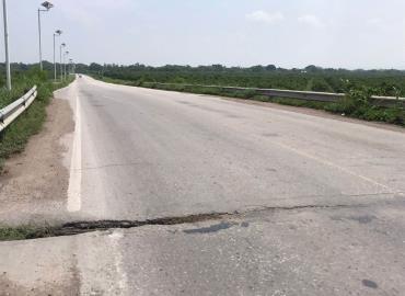 Piden apoyo para revisar el puente