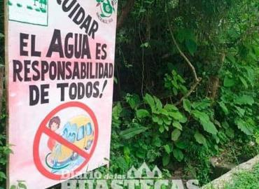 Ecología pide cuidar el agua