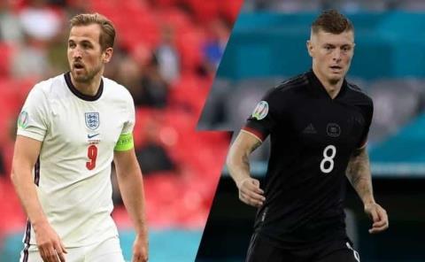 Ingleses y alemanes en duelo de colosos