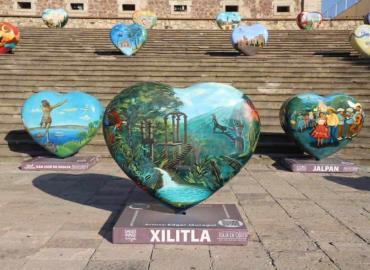 Difunden Xilitla en Querétaro