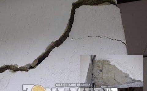 Temblores de la tierra dañan cientos de casas