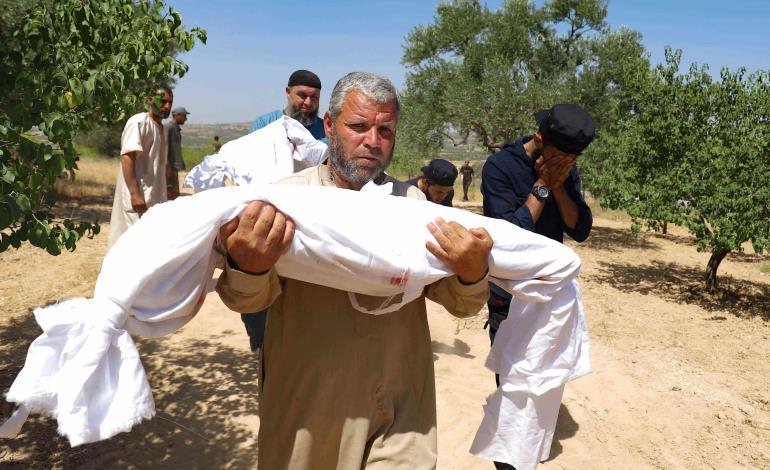 Mataron a 7  niños en Siria