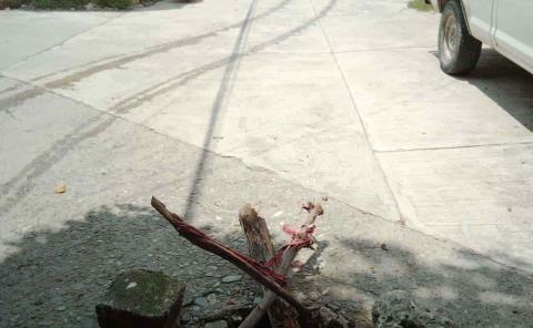 Drenaje pluvial se derrumba